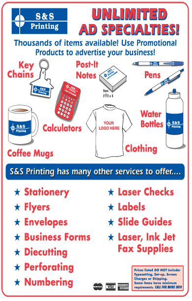 S&S - Promotional Items